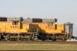 UP 9890 and 8982